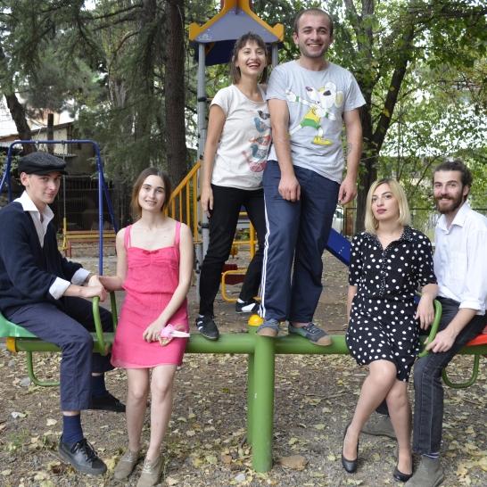 Jimmy Melkadze, Natia Kavtaradze, Mariam Gabritchidze, Giorgi Parjanadze, Lili Mamulashvili, Archil Sulakvelidze